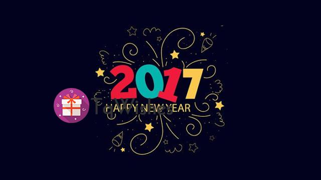 Happy New Year 2017 Calendar HD Wallpaper 2