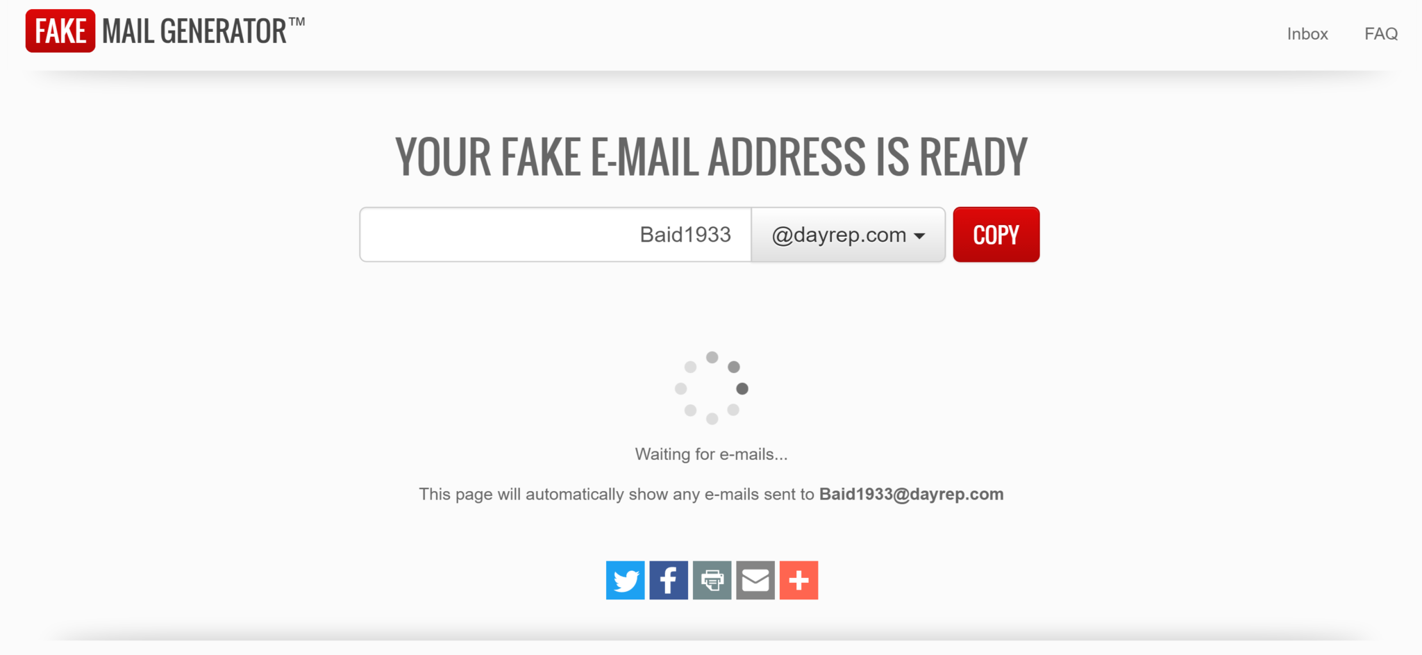Image result for Fake Mail Generator