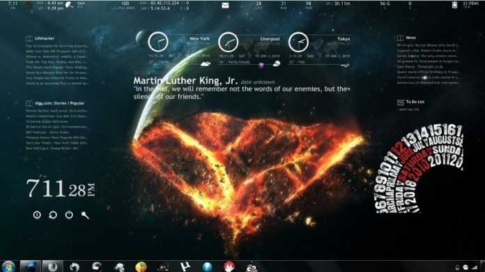 Top 10 Rainmeter Themes to Download in 2019 3
