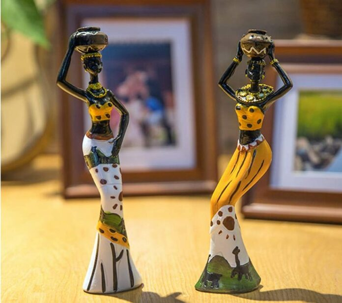 Huge collection of decorative human figurines online