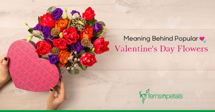 Meaning Behind Popular Valentine's Day Flowers