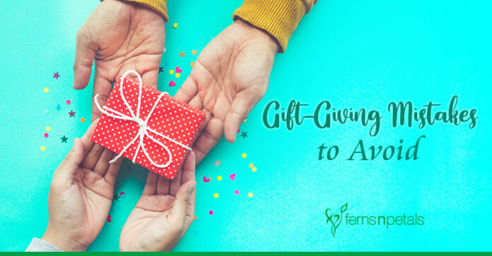 Gift-Giving Mistakes