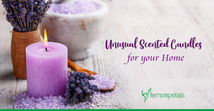 Unusual Scented Candles