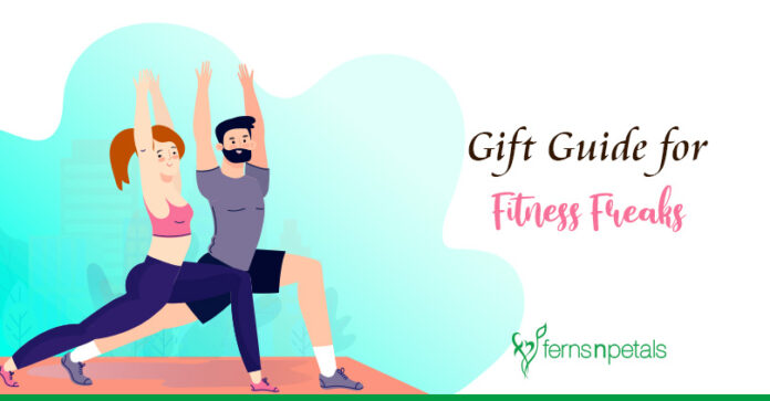 Fitness Freak Friends with these gifts