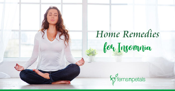 Home Remedies that will Help with Insomnia