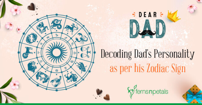 Decoding Dad Personality as per his Zodiac Sign