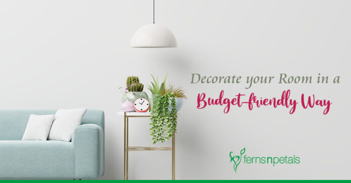 How to Decorate your Room in a Budget-friendly Way?