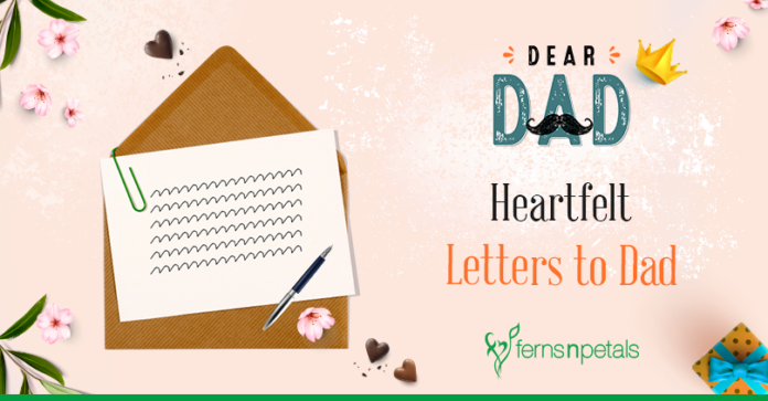 Heart Touching Letters for your Dad